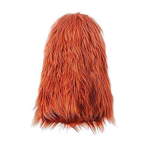 chendongdong Hot Sale Fancy Dress Up Costume pour chien chat Halloween Vêtements Lion Mane perruque pour grand chien
