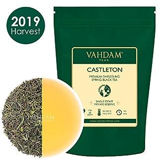 VAHDAM-2019-Erster-Flush-Tee-aus-dem-legendren-Castleton-Tea-Estate-353-Oz-100-g-Exklusiv-von-Hand-gepflckter-schwarzer-Tee-Loose-Leaf-Ein-perfekter-tglicher-loser-Blatt-Schwarztee