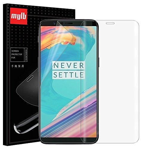 MYLB [4 Pack] Soft TPU Screenprotector Film Bildschirmschutzfolie schutzfolie für Oneplus 5T