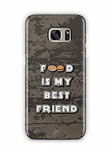 YuBingo Food is my Best Friend Designer Mobile Case Back Cover for Samsung Galaxy S7