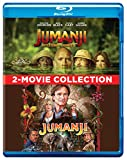 #10: 2 Adventure Movies Collection - Jumanji (1995) + Jumanji: Welcome to the Jungle (2-Disc)