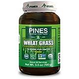Pines International Weizengraspulver, 100 ml, 10 Stück