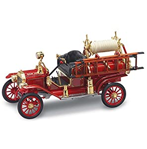 LUCKY Die-Cast 20038 Die Cast 1: 18 1914 Ford Model T Fire Engine Red