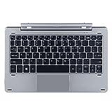 CHUWI HI10 PRO(CWI529) / Hibook Pro Tablet Tastatur magnetisch Docking teilbares Design Multi-Mode Drehschaft (englische Version-Tastatur)