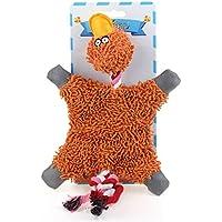 """chiwava 12.6""""Squeak juguete de perro unstuffed fregona Pato cachorro Interactive Play"""