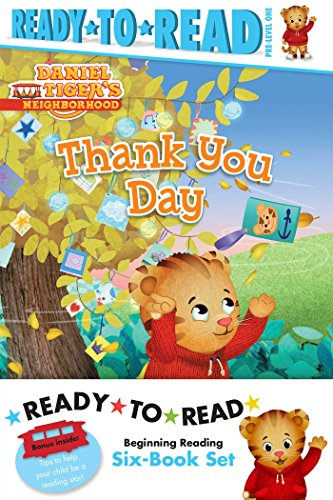 Daniel Tiger Ready-To-Read Value Pack: Thank You Day; Friends Help Each Other; Daniel Plays Ball; Daniel Goes Out for Dinner; Daniel Feels Left Out; D ... Pre-Level 1: Daniel Tiger's Neighborhood) -
