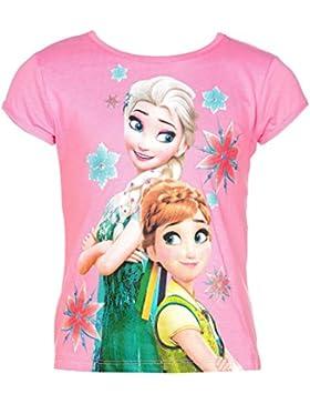 Disney Frozen Die Eiskönigin T-Shirt, Original Lizenzware, pink, Gr. 104-128
