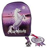 Depesche 5477 - Miss Melody Maniküre Set für Kinder, ca. 9,5 x 9 x 2 cm