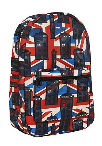 Doctor Who Union Jack Backpack Standard