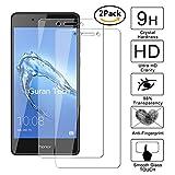 [2 Pack] Guran® Glass Protector pour Honor 6C Smartphone Screen Verre Trempé Protecteur d'écran Résistant aux éraflures