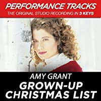 Grown-Up Christmas List (Performance Tracks) - EP