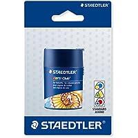 Staedtler 512002BKD - Sacapuntas doble con contenedor