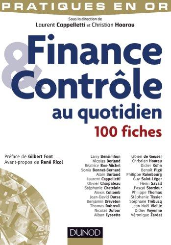 Finance et Contrôle au quotidien - 100 fiches