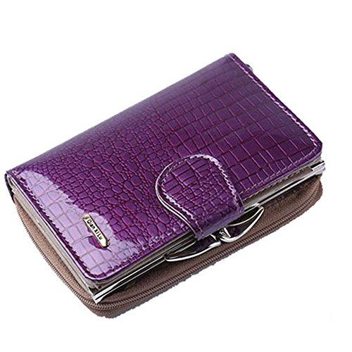 Eysee, Poschette giorno donna rosso Purple 12.5cm*8.4cm*4cm Purple