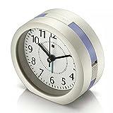 Wecker, HQOON Batteriebetriebener Wake Up Snooze wecker mit Nachtlicht für Heim...