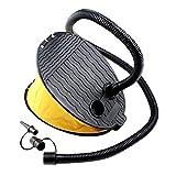 Contever 3000 CC Fußpumpe Fußbetätigung Kompressor Tragbar Blasebalg Luftpumpe für Pool, Luftmatratze e Outdoor-Camping