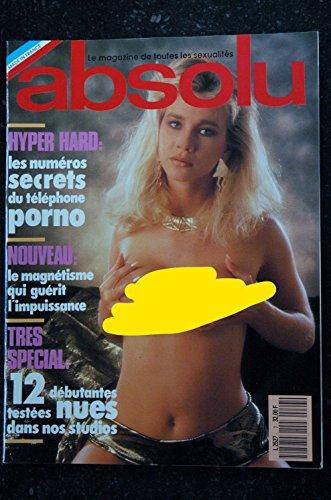 ABSOLU 07 N° 7 1990 / 3° T JENNY KIM CLAUDIA ANNE modèle de luxe PAMELA & VERA LIZA & Debbie