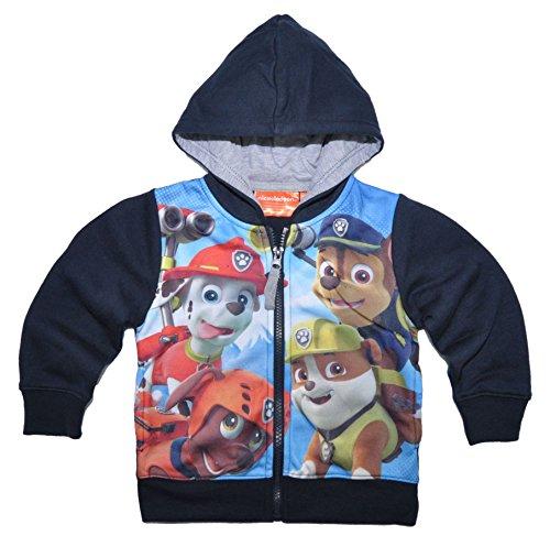 Official Licensed Paw Patrol hoodie jumper Sweatshirt with hood for Boys Girls