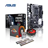 Memory PC Aufrüst-Kit Ryzen 7 2700X 8X 3.7 GHz, 32 GB 3000 MHz DDR4 G.Skill, ASUS Prime X370-PRO