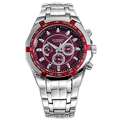 Brands Men's Fashion Wristwatch 8084 shelf wholesale curren new men's fashion business casual quartz watc