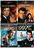 The Complete Pierce Brosnan James Bond DVD Movie Collection: GoldenEye / Tomorrow Never Dies / The World Is Not Enough / Die Another Day by Pierce Brosnan