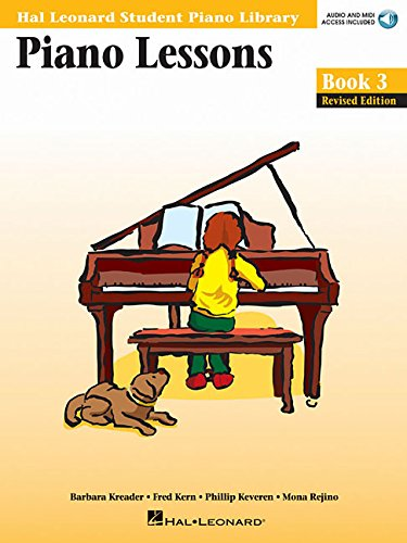 Piano Lessons 3 Piano+CD (Hal Leonard Student Piano Library (Songbooks))