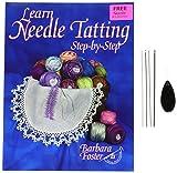 Handy Hands Apprendre Needle Tatting étape par étape kit-avec #7, 5-0, 3-0...