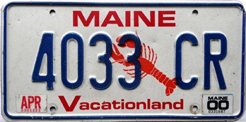 US Nummernschild Kennzeichen # USA Schild