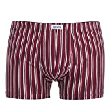 Ceceba Herren Pants, Baumwolle, Elastan, Single Jersey rot gestreift 8