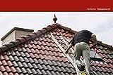 Dachfarbe seidenmatt versch. Farben Dachanstrich | BEKATEQ BE-510 Dachbeschichtung Dachsanierung Sockelfarbe Dachlack | Dachziegel Farben Dachversiegelung für Dachgaube, Dachpfannen, Blechdach, Metalldach, Ziegeldach, Flachdach | Wasser & Schmutzabweisend, Wetterbeständig, hohe Deckkraft (10L, Rot)