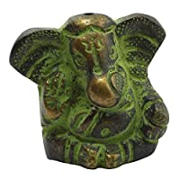 Freak Scene Incense stick holder - Ganesha 01 - Brass