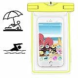 Smartphone Schutzhülle | MobiWire Ahiga | Pegasus | Wasserdichte | Staubdichte Handy Beachbag | HBB Gelb