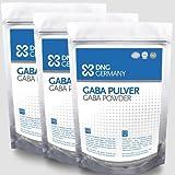GABA Reine Gamma Amino Buttersäure Pulver, Aminosäuren, HGH 450g (3 x 150g)