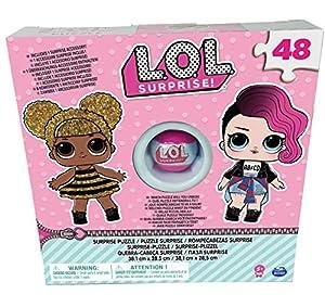 Spin Master L.O.L. Puzzle Box with Exclusive Ball - Rompecabezas (Rompecabezas de Figuras, Niños y Adultos, Niño/niña, 5 año(s), China, Caja con Ventana)