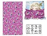 Frozen Disney Eiskönigin Schal Kopftuch Tuch rosa neu Halstuch