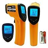 nubee 8380h sin contacto temperatura termómetro de infrarrojos con mira láser Max pantalla