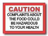 #9: Nourish Complaints About The Food Fridge Magnet