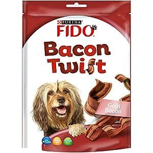 Fido Bacon Twist - 120 g - Friandises pour Chien - Lot de 6