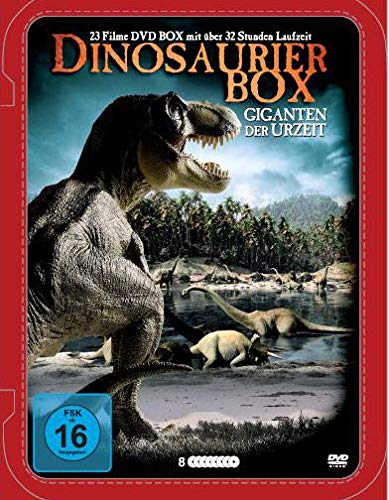Dinosaurier Edition - 23 Filme in Deluxe Metallbox [8 DVDs]
