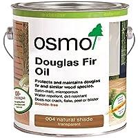 OSMO 004 - Olio di abete di Douglas, colore naturale, opaco, 2,5 litri