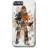 """iPhone 6 Plus/6s Plus Star Wars Fankunst Silikonhülle / Gel Hülle für Apple iPhone 6S Plus 6 Plus (5.5"""") / Schirm-Schutz und Tuch / iCHOOSE / Chewbacca"""