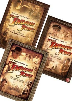 Young Indiana Jones - Complete Adventures [17 DVDs] [Schwedischer Import]