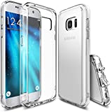 Funda Galaxy S7, Ringke [FUSION] Choque Absorcin TPU Parachoques [Choque Tecnologa Absorcin][Conviviente tapn antipolvo] para Samsung Galaxy S7 - Clear