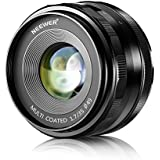 Neewer® 35mm f/1,7 Objectif Fixé Focus Manuelle pour OLYMPUS et PANASONIC APS-C Appareil Photo Numérique, Tel que OLYMPUS: E-M1/M5/M10, E-P5E-PL3/PL5/PL6/PL7, PANASONIC: GM1/2, GX1/2/7/8, GF5/6/7