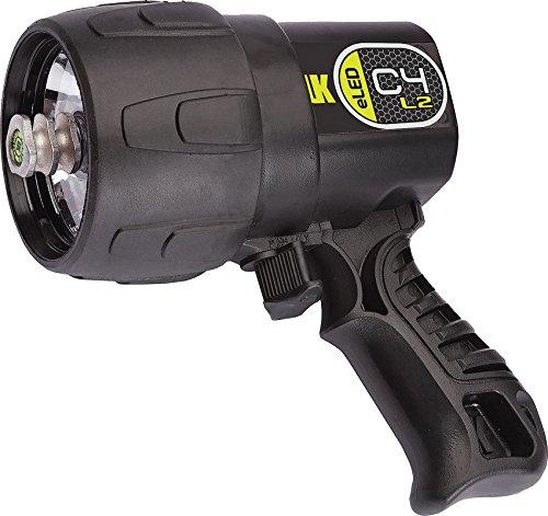 Underwater Kinetics Tauchlampe C4 ELED, Schwarz, 519057