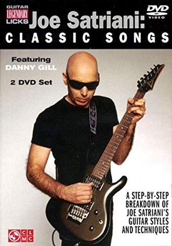 Joe Satriani: Classic Songs (Guitar Legendary Licks) por Danny Gill