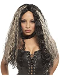 Mr179511 Wig Rocker Crimped Long Crimped Two-Toned