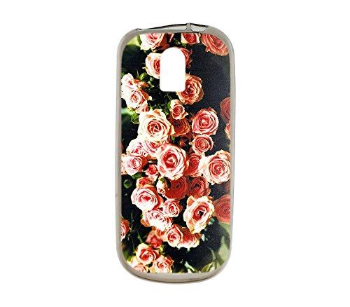 Oujietong Custodia per Nokia 130 nokia130 Custodia TPU Soft Case Cover MG