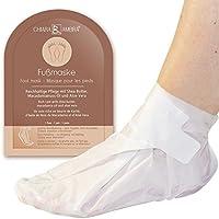 Mascarilla para los pies de Chiara Ambra, un tratamiento de lujo para los pies con una práctica forma de zapato