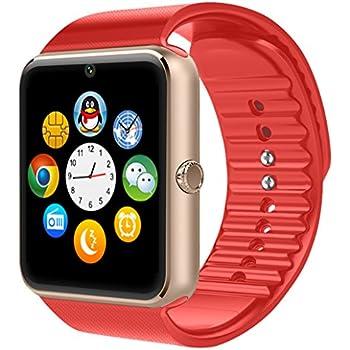 e-TKT GT08 Bluetooth Reloj Inteligente con Ranura para ...